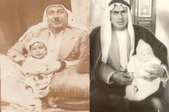 شاهين بك وبوزان بك البرازي من زعماء حلف البرازية- عين العرب